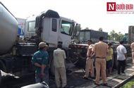 Đời sống - Liên tiếp hai vụ tai nạn, kẹt xe trầm trọng trên đại lộ Mai Chí Thọ
