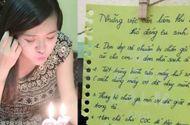 Giới trẻ - Hot girl Mai Thỏ bất ngờ gửi thư dặn chồng 5 điều trước khi sinh