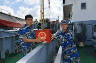 Tin trong nước - Tàu Bộ Tư lệnh vùng 2 ra Biển Đông tổ chức bầu cử