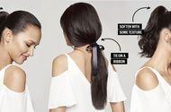 Sức khoẻ - Làm đẹp - Nâng cấp kiểu tóc buộc đuôi ngựa vừa điệu vừa xinh