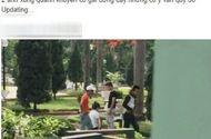 Cộng đồng mạng - Cô gái quỳ gối xin bạn trai tha thứ tại Hà Nội gây phẫn nộ