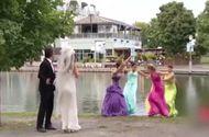 Video-Hot - Hài hước: Cô dâu tung hoa phù dâu ngã ngửa xuống hồ