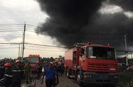 Tin trong nước - Cháy lớn tại Công ty nệm Vạn Thành ven Sài Gòn