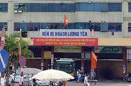Tin trong nước - Chùm ảnh: Bến xe Lương Yên trước ngày di dời