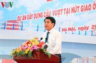 Tin trong nước - Hà Nội xây dựng cầu vượt tại nút giao Ô Đông Mác - Nguyễn Khoái