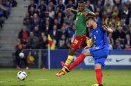Bóng đá - Pháp vất vả giành chiến thắng trước Cameroon