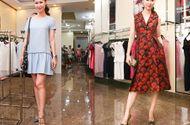 Tin tức giải trí - Dương Thùy Linh mix váy bình dân với phụ kiện hàng hiệu