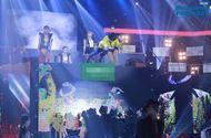 Tin tức giải trí - Biệt đội tài năng tập 7: Nguyễn Hưng xả thân nhảy từ độ cao 4,5m