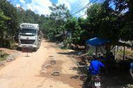 Tâm điểm dư luận - Dân chặn xe nhà máy chế biến quặng Làng Mị vì phá nát đường