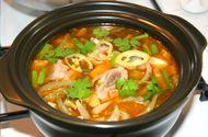 Ăn - Chơi - Cách chế biến món canh sườn non nấu cải chua đơn giản cho bữa cơm trưa