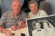 Gia đình - Tình yêu - Kỷ niệm ngày cưới bằng việc ăn bánh gìn giữ suốt 60 năm