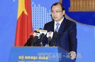 Tin trong nước - Việt Nam lên tiếng vụ tàu Mỹ hoạt động gần Hoàng Sa