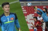 Video - Màn trình diễn ấn tượng của thủ thành Tiến Dũng trước U19 Nhật Bản