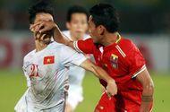 Thể thao - Những pha bóng thô bạo của tuyển Myanmar với tuyển Việt Nam