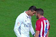 Thể thao - Màn tranh cãi nảy lửa giữa Ronaldo và Koke ở derby Madrid