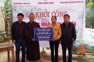Sống đẹp - Báo ĐS&PL phối hợp xây dựng thêm nhà tình nghĩa tại Hà Tĩnh