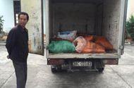Thị trường - Bắt giữ  xe tải chở 14 bao tải mỡ trâu bò không rõ nguồn gốc