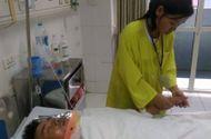 Hoàn cảnh - Xót thương hoàn cảnh của anh phụ hồ bị tai nạn khi tập thể dục buổi sáng