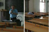 """Cộng đồng mạng - Chuông reo hết giờ sinh viên vẫn ngủ và cách giải quyết """"bá đạo"""" của thầy giáo"""