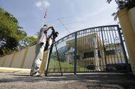 Tin thế giới - Cảnh sát vào Đại sứ quán Triều Tiên gặp nghi phạm trong vụ 'Kim Jong-nam'
