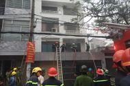 Tin trong nước - Nhà 3 tầng bốc cháy ngùn ngụt, cảnh sát đập cửa chữa cháy