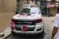 Tin trong nước - Tin tức mới nhất vụ xe Ford Range bị vẽ sơn chằng chịt ở Hà Nội