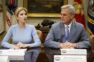 Tin thế giới - Con gái Trump thay cha chủ trì cuộc họp Nhà Trắng