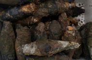 Tin trong nước - Phát hiện 200 kg bom, đạn dưới nền trụ sở Huyện ủy