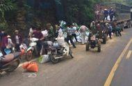 Tin trong nước - Dân mang cả công nông đi hôi của trong vụ tai nạn ở Hòa Bình