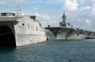 Tin trong nước - Tàu hải quân Mỹ, Nhật cập bến Cảng quốc tế Cam Ranh