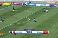 Bóng đá - U20 Việt Nam vs U20 Pháp:  0 - 4, U20 Pháp tăng tốc là... ghi bàn