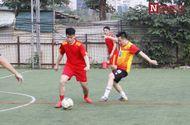 Thể thao - Giao hữu bóng đá giữa Cục A87 Bộ Công An và báo ĐS&PL