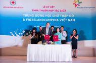 Truyền thông - Thương hiệu - Hội chữ thập đỏ Việt Nam & FrieslandCampina Việt Nam ký kết thỏa thuận hợp tác