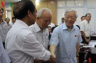 Tin trong nước - Tổng Bí thư Nguyễn Phú Trọng tiếp xúc cử tri sau kỳ họp Quốc hội