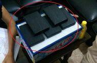 An ninh - Hình sự - Nam thanh niên giấu 5 bánh heroin dưới gầm xe Airblade