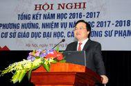 """Tuyển sinh - Du học - Bộ trưởng Phùng Xuân Nhạ lý giải """"mưa"""" điểm 10 kỳ thi THPT quốc gia 2017"""
