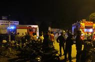 Tin trong nước - Xưởng may ở Sài Gòn cháy dữ dội trong đêm