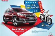 """Tài chính - Doanh nghiệp - Honda Việt Nam triển khai chương trình khuyến mại """"Mua CR-V, tặng ngay SH"""""""