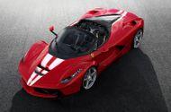 """""""Sốc """" vì chiếc siêu xe LaFerrari mui trần cuối cùng có giá 225 tỷ đồng"""