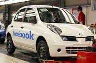 """Facebook bắt đầu gia nhập """"cuộc chơi"""" ôtô"""