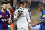 Thể thao - Ronaldo, Messi, Neymar lọt Top 3 đề cử Cầu thủ xuất sắc nhất năm 2017