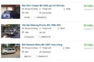 Tin tức - Có nên mua ô tô cũ giá 50 triệu đang rao bán trên thị trường?