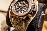 Tin tức - Chiếc đồng hồ Hublot đặc biệt từ da hươu tinh tế và cổ điển, trên thế giới chỉ có 100 chiếc được làm thủ công hoàn toàn