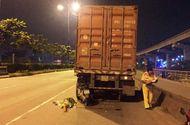 Tin trong nước - Thanh niên đâm vào xe container tử vong tại chỗ khi chạy vào làn ô tô