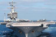 """Tin thế giới - Mỹ điều hàng loạt tàu sân bay """"khủng"""" đến tập trận gần bán đảo Triều Tiên"""