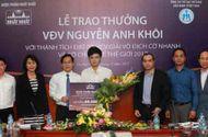 Cần biết - VĐV Nguyễn Anh Khôi tiếp tục được Dược phẩm Nhất Nhất đầu tư phát triển tài năng