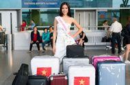 Tin tức - Nguyễn Thị Loan lên đường sang Mỹ dự thi Hoa hậu Hoàn vũ 2017
