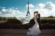 Tin tức - Ngọc Duyên khoe ảnh cưới lãng mạn ở Paris với chồng hơn 18 tuổi