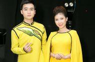 Tin tức giải trí - Dương Hoàng Yến - Hà Anh diện áo dài đôi sau khi tái hợp