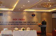 Y tế sức khỏe - Hội thảo chia sẻ kinh nghiệm vận động tăng thuế thuốc lá tại Ninh Bình